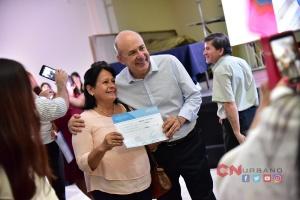 Entrega de Certificados de los Cursos de oficios